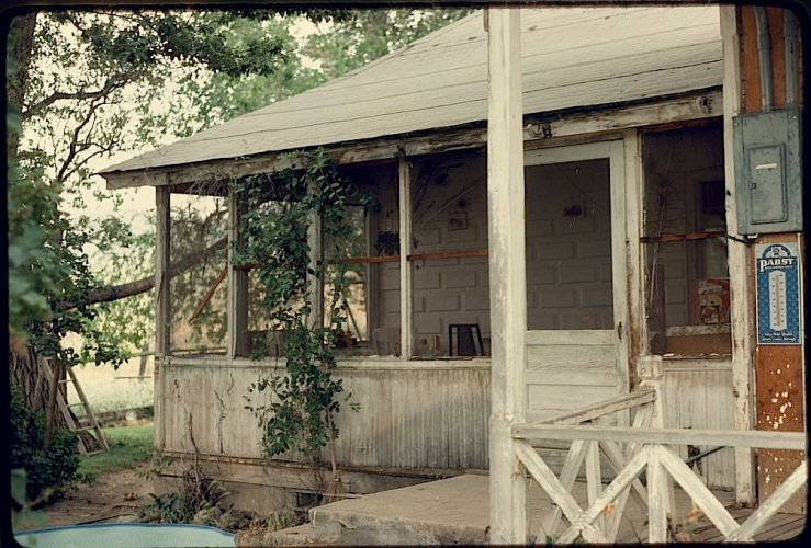 Ranch house porch, 1978, Suzi Jones, Library of Congress