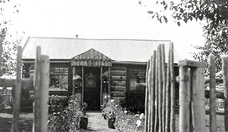 Alaska cabin, Library of Congress