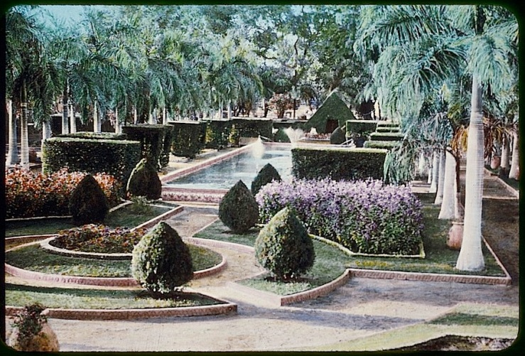 Cairo garden, Matson Photo Service, Library of Congress