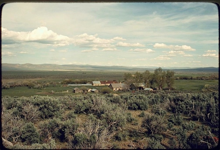 Fort Scott Ranch, Paradise Valley, NV, Library of Congress