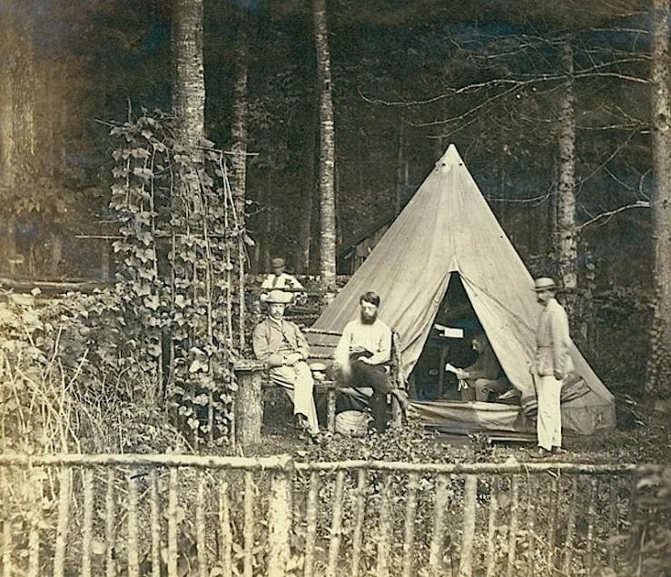 Grimsby camp, Hamilton Public Library