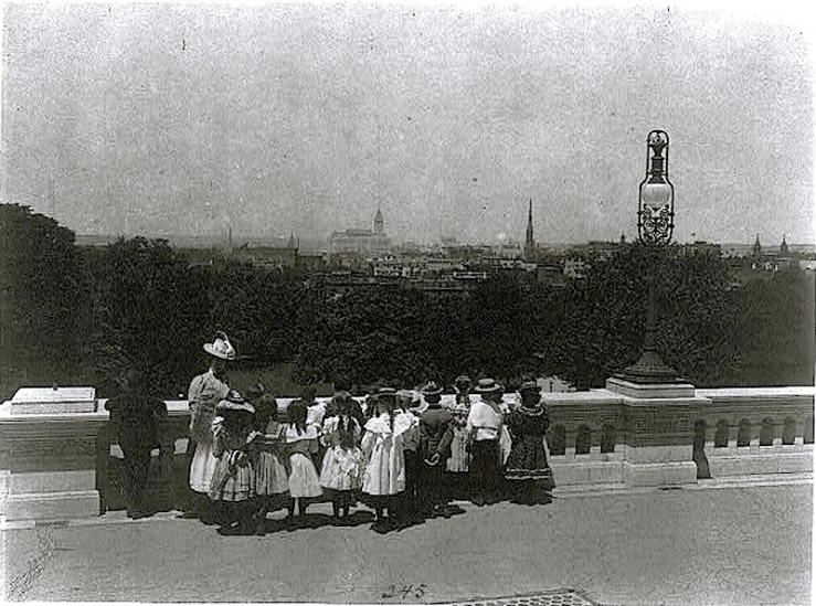 field trip, WashDC, 1899, FB Johnston, Library of Congress