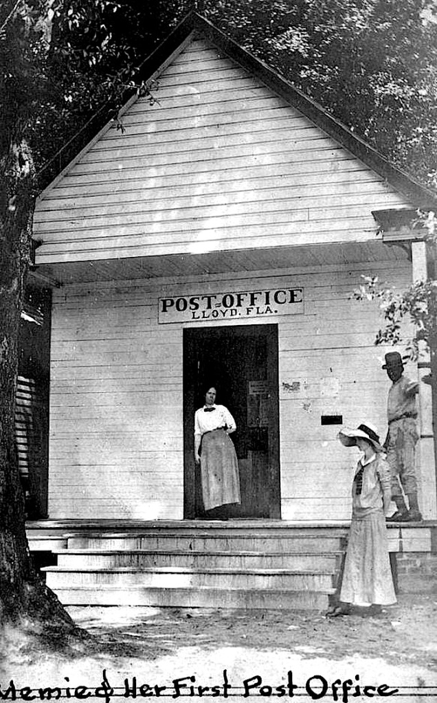 Memie & first p.o., Florida