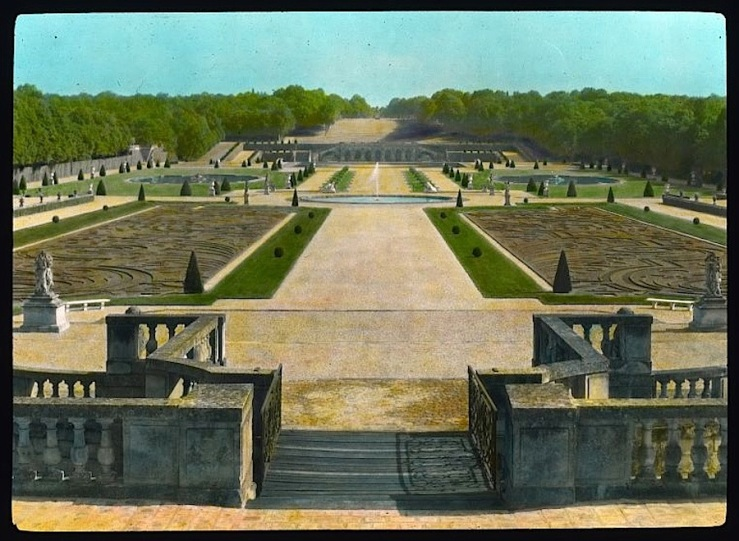 Vaux le Vicomte, France, 1925, Library of Congress