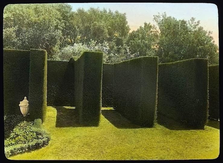 4 Piranhurst, California, 1917, F.B. Johnston, Library of Congress