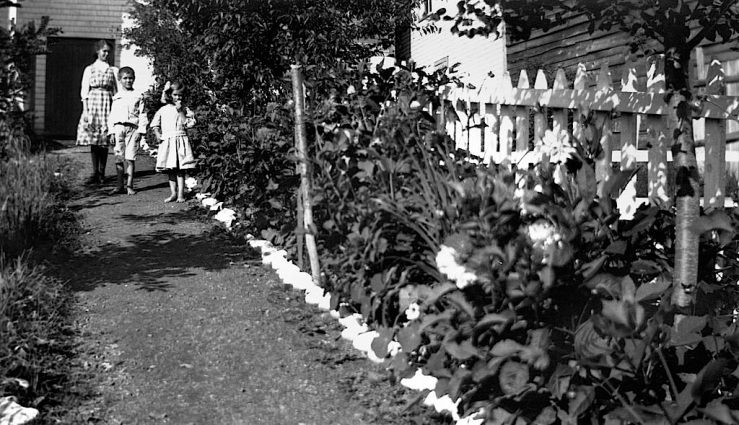 garden path, Nova Scotia Archives Flickr