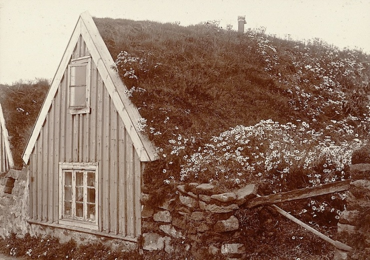 Iceland house, ca. 1900, Cornell University Library