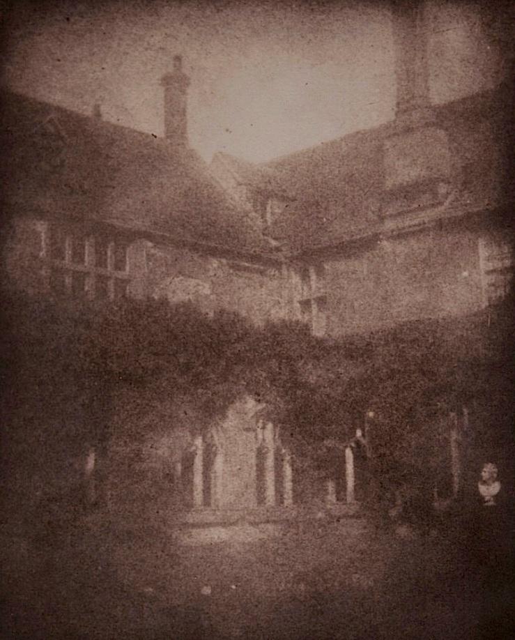 Lady's Elizabeth's rose garden, 1840s, Museum of Photographic Arts