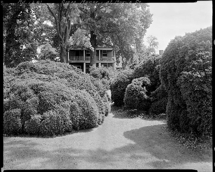 Cross Manor, St. Mary's County, MD, Library of Congress