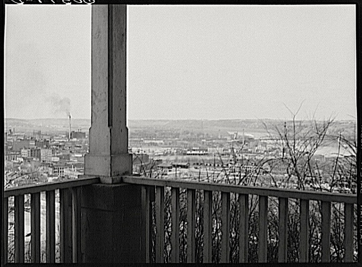 Dubuque Iowa, J. Vachon, Library of Congress