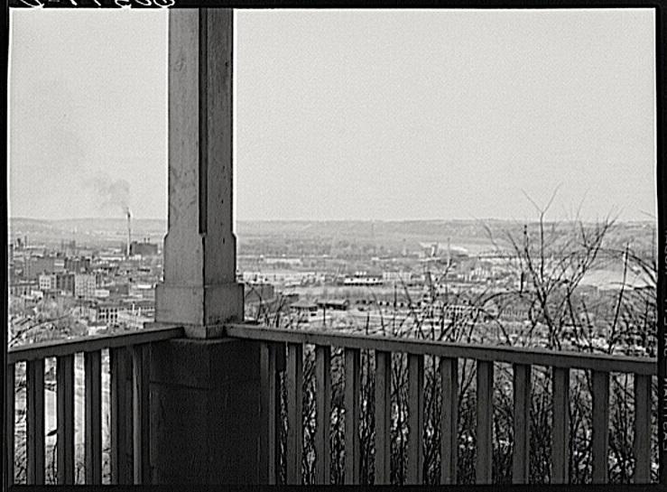 Dubuque Iowa, J. Vachon, Library of Congress