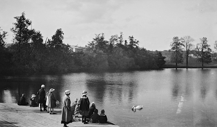 Frognerparken, Oslo, 1921-22, flickr Commons
