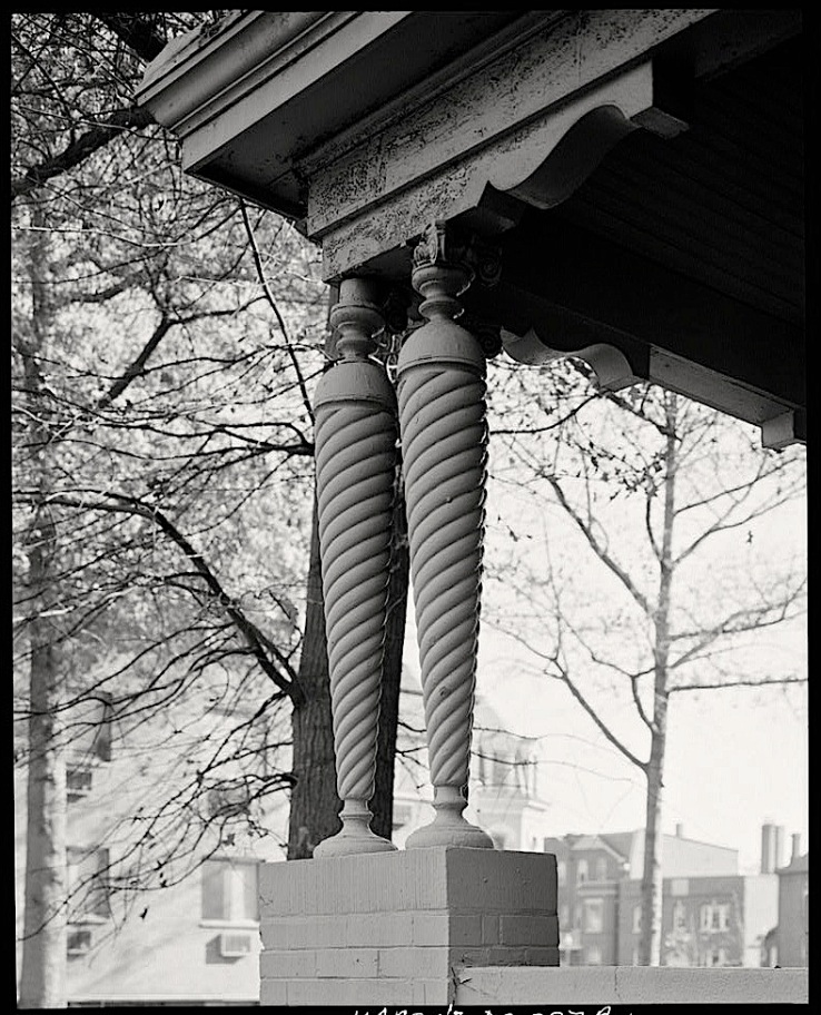 Le Droit Park, 1974, Wash.DC, HABS, Library of Congress