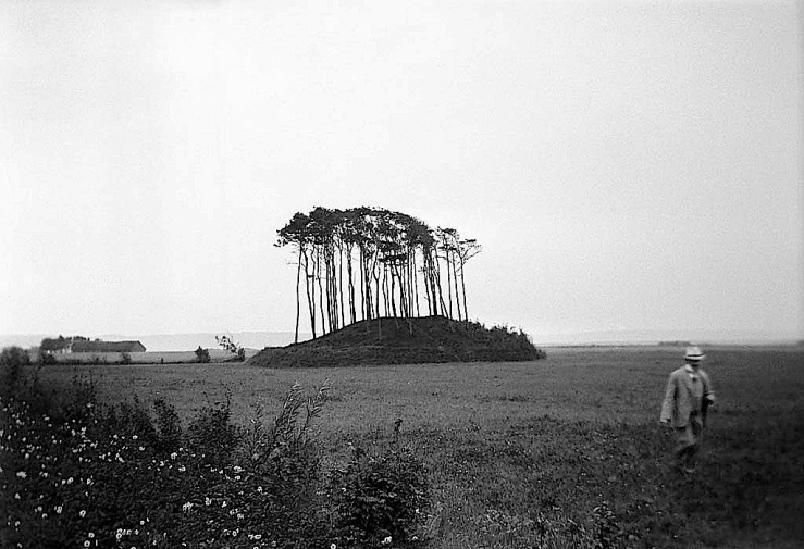 Bronze age burial mound, Swedish Natl. Heritage Board