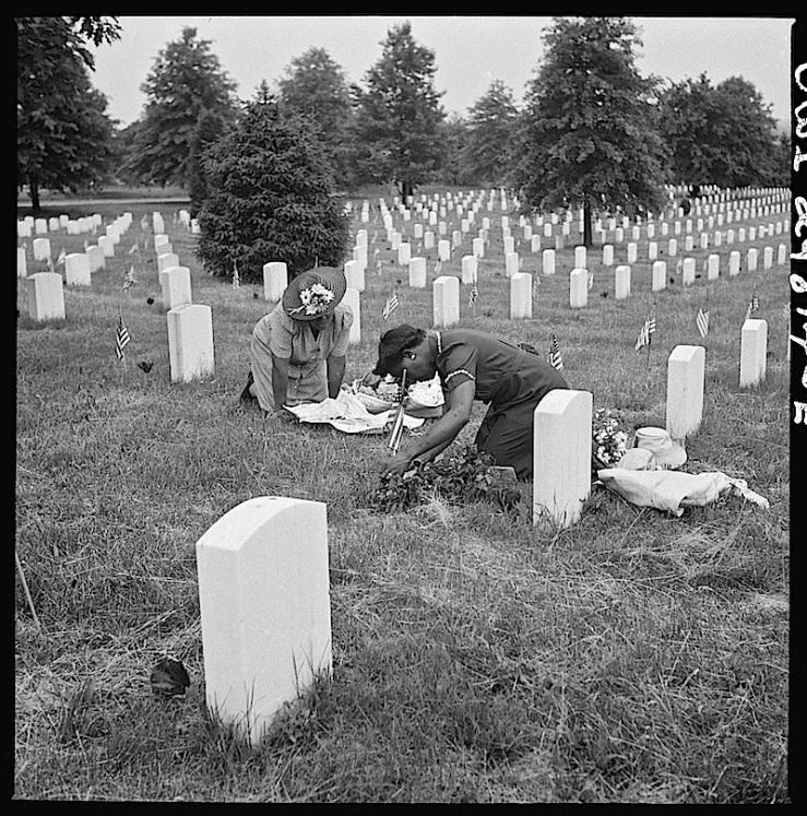 Memorial Day 2, Arlington, E. Bubley, Library of Congress